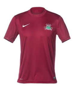 Pukekohe AFC Playing Strip - Maroon Shirt